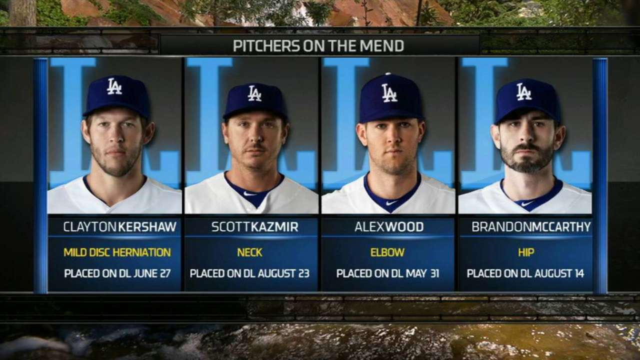 Simulated game could lead to Kershaw's return