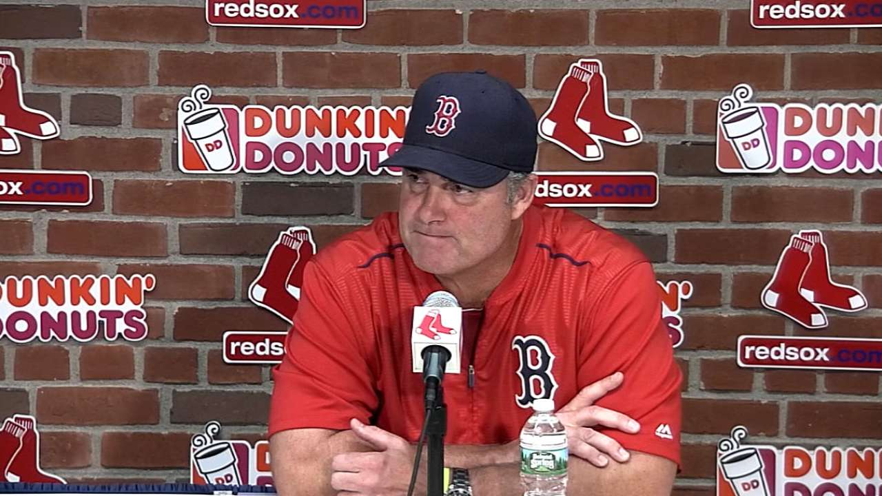 Farrell on Porcello, 9-4 victory