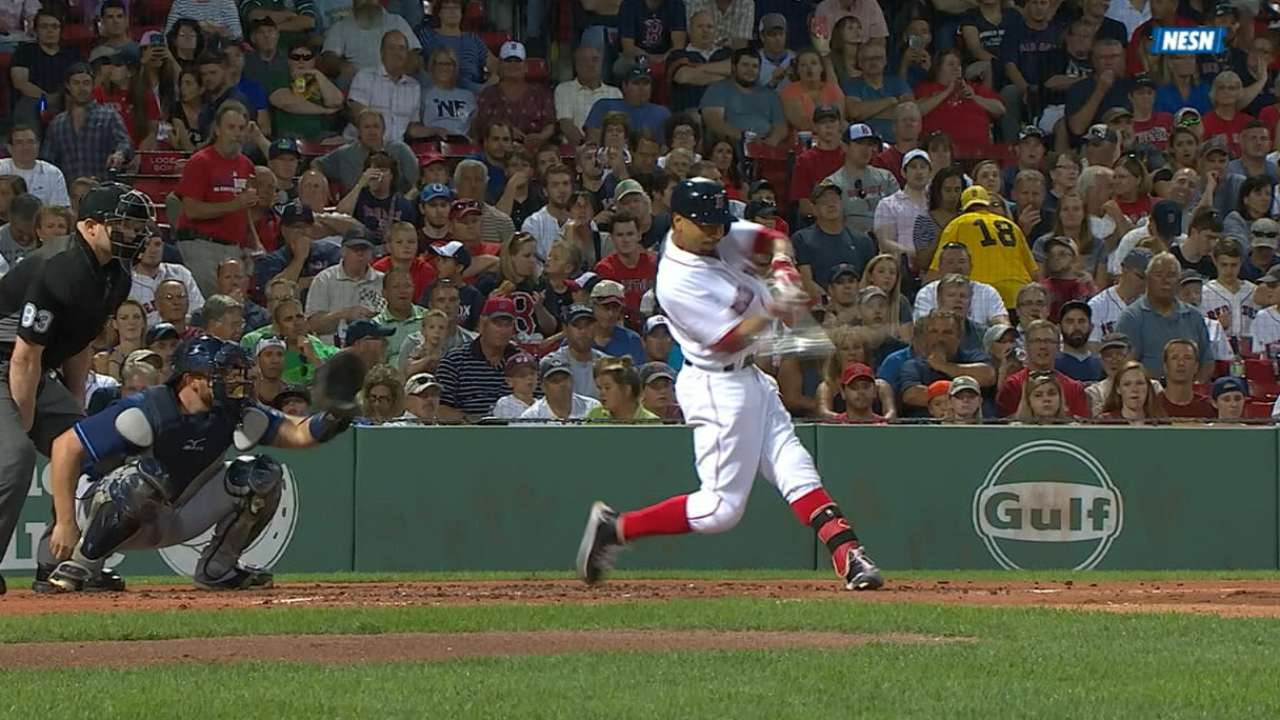 Mookie joins elite company with 30th HR