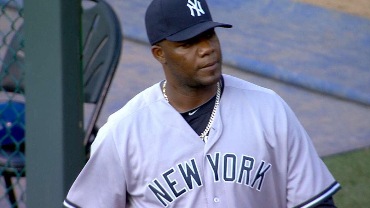 Pineda K's eight vs. Royals