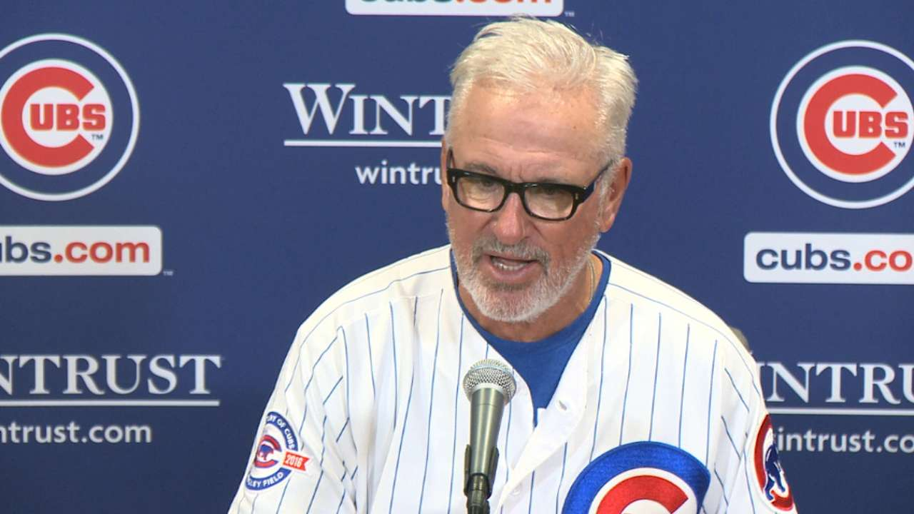 Maddon on walk-off win in extras