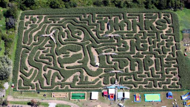 For his latest retirement gift, David Ortiz received an entire New England corn maze in his honor | MLB.com
