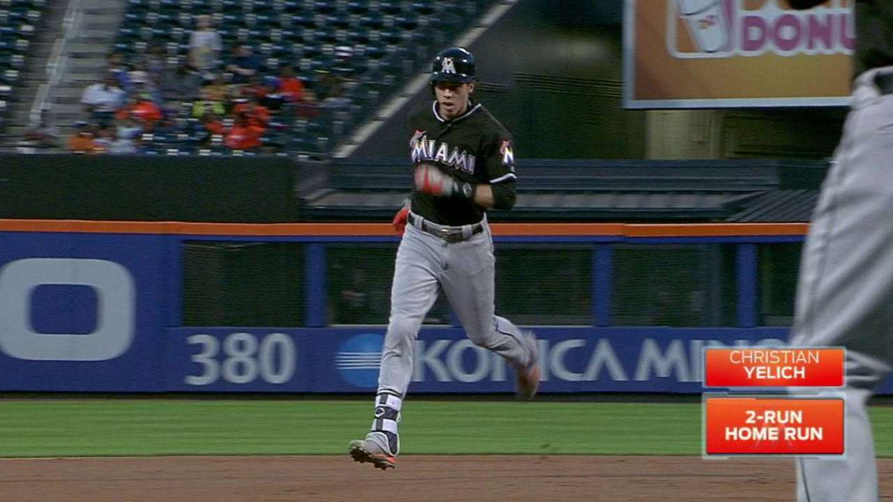 Yelich, Realmuto homer but Koehler struggles in loss