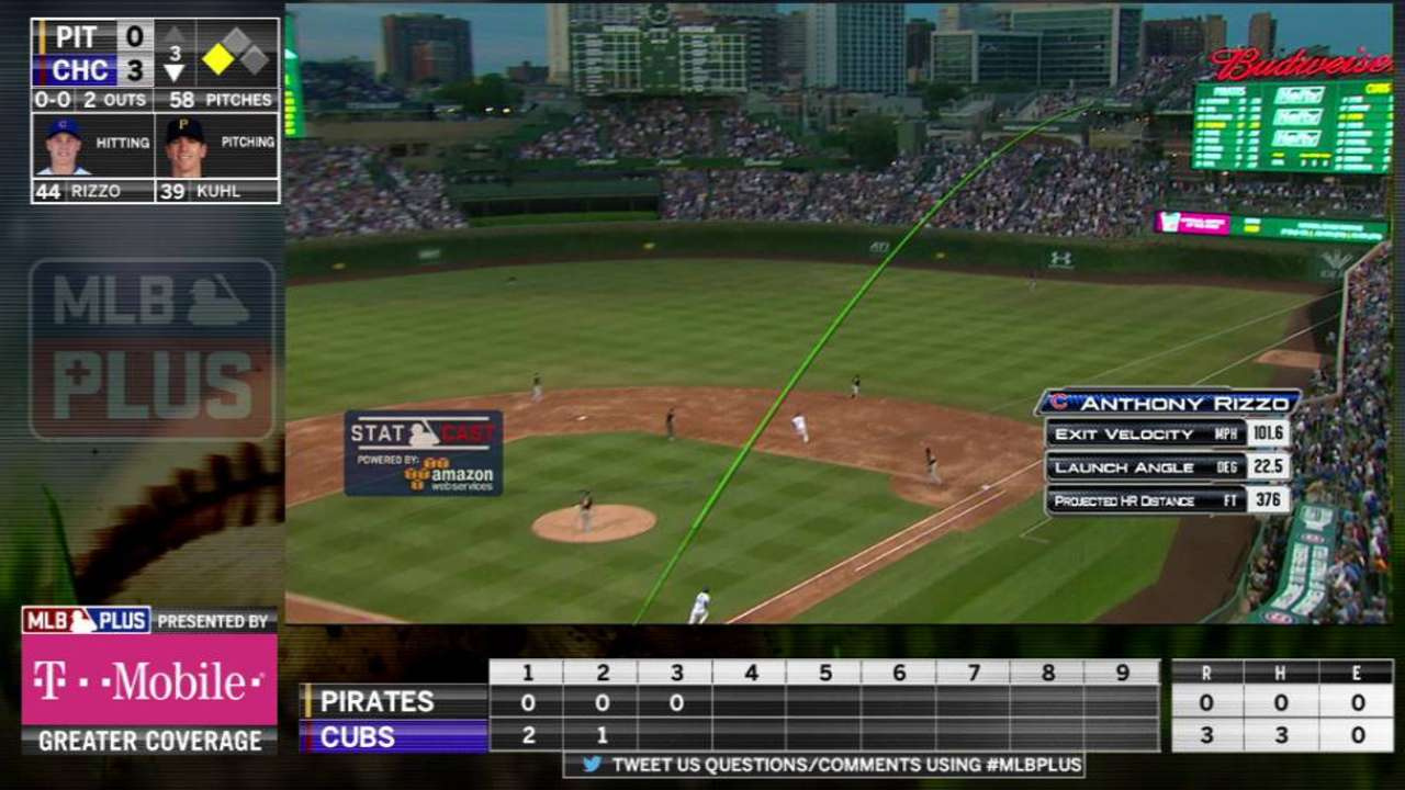 MLB Plus: Rizzo's two-run homer