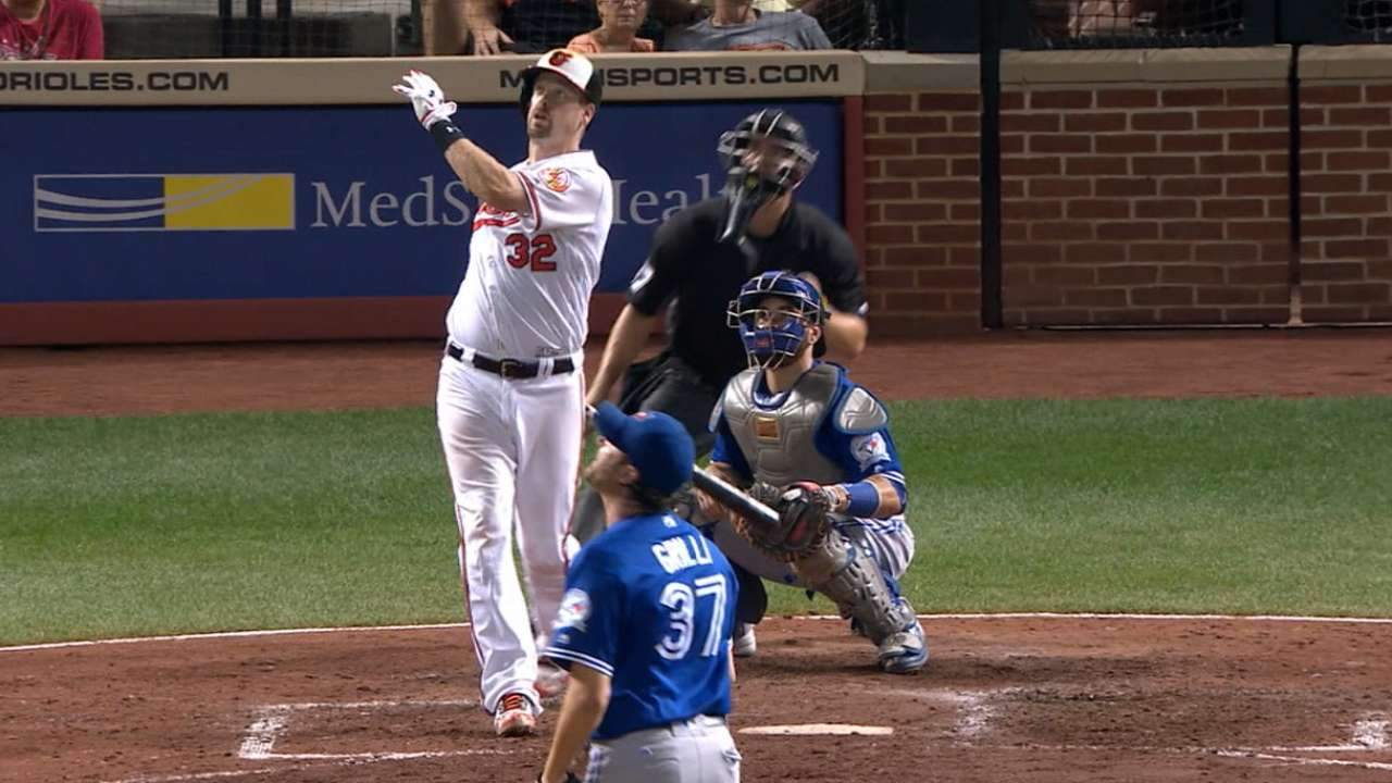 Wieters' two-run home run