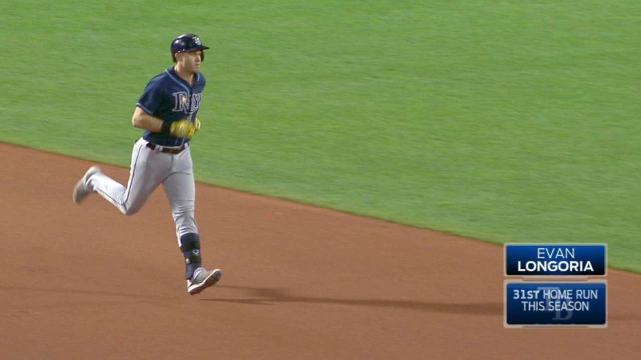 Longoria reaches for amplified personal goals