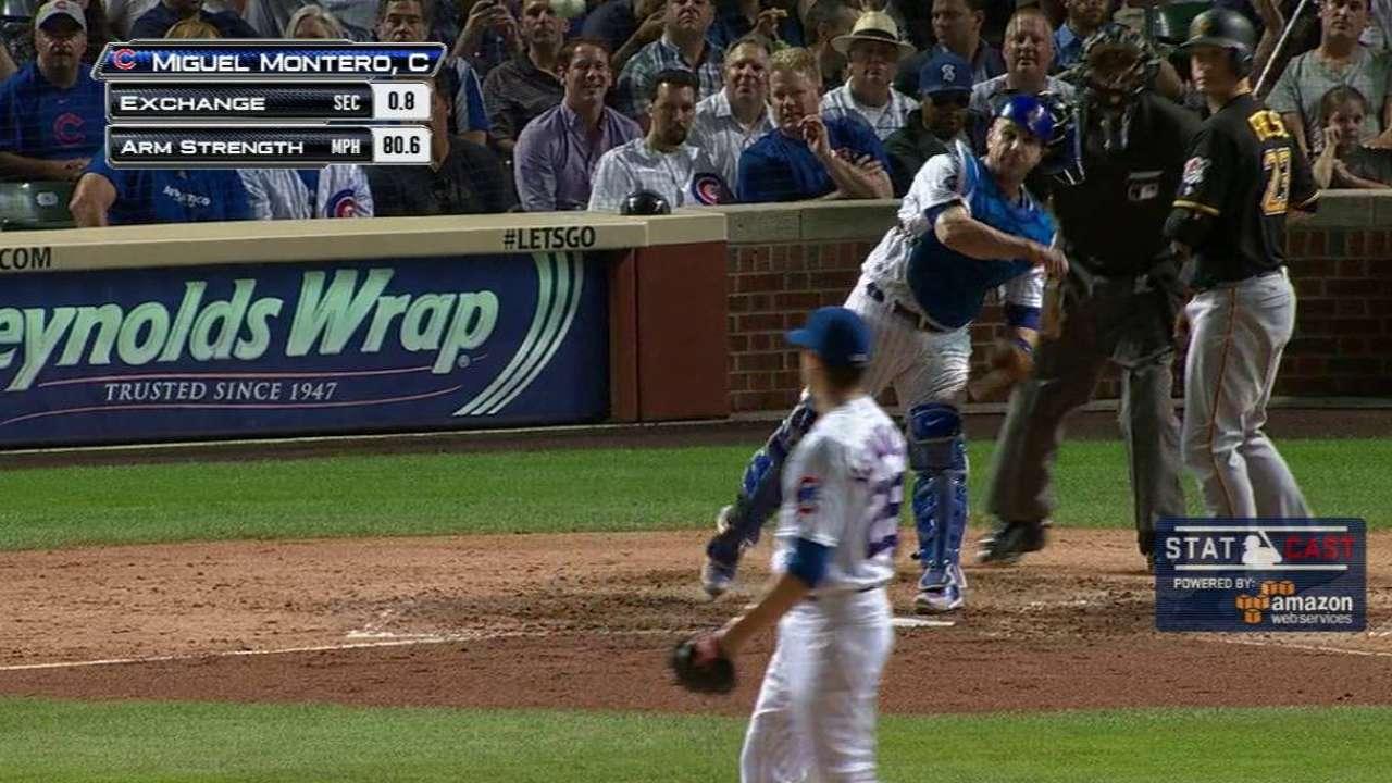 MLB Plus: Montero nabs Marte