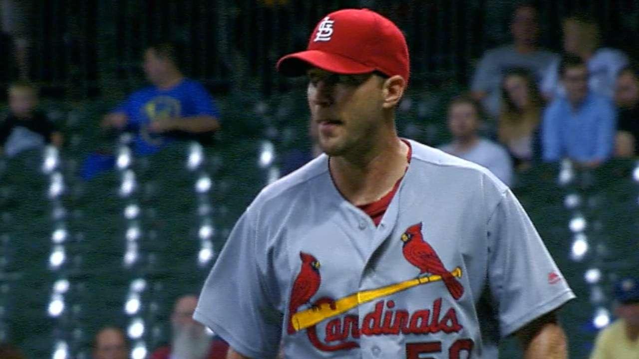 Wainwright, Cards' rotation bouncing back