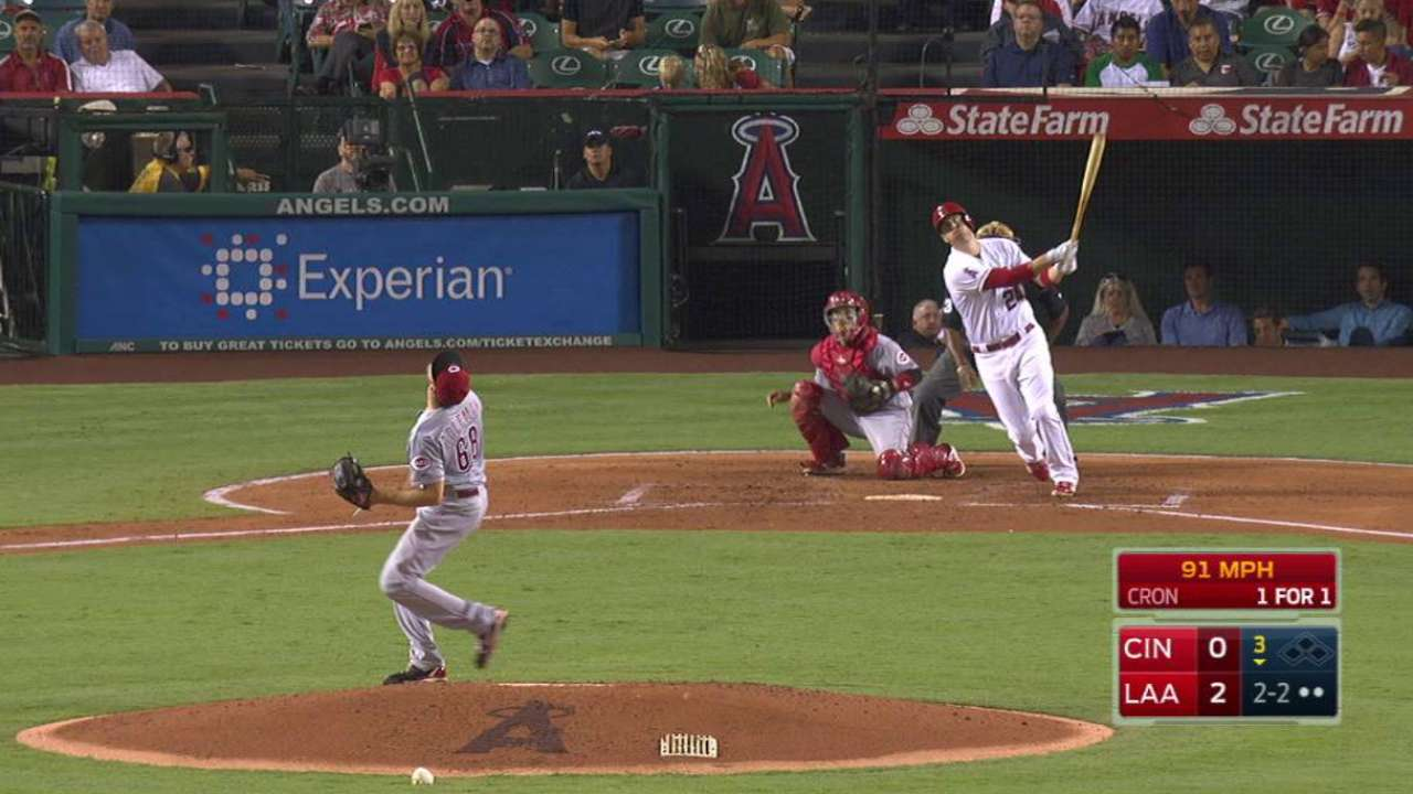Cron's second homer