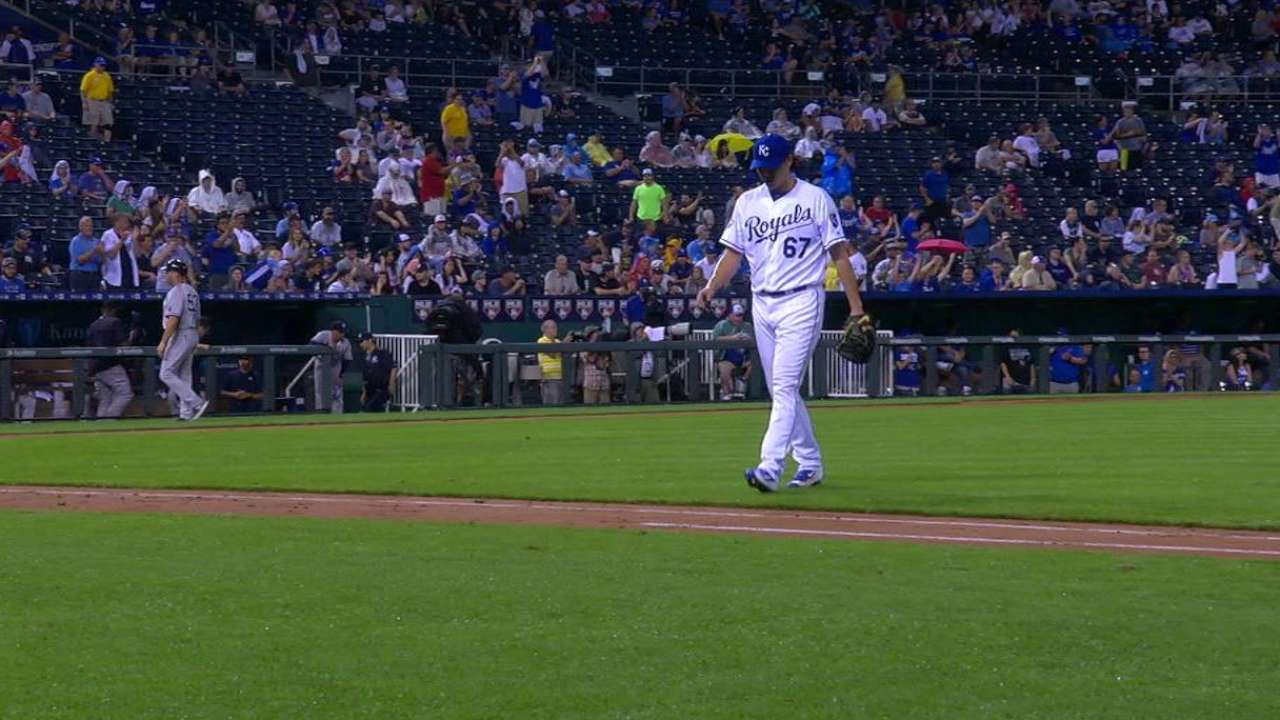 Wang heads to DL as Royals recall 2 pitchers
