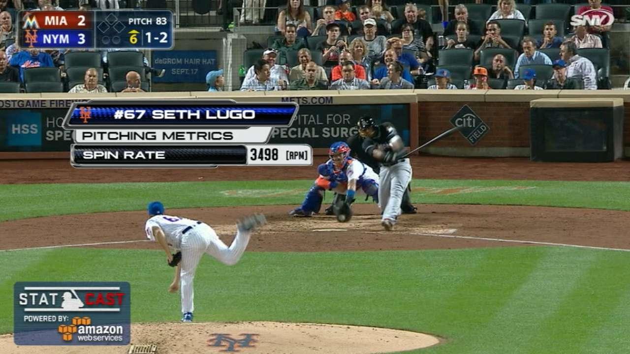 Lugo spins a Statcast curveball record