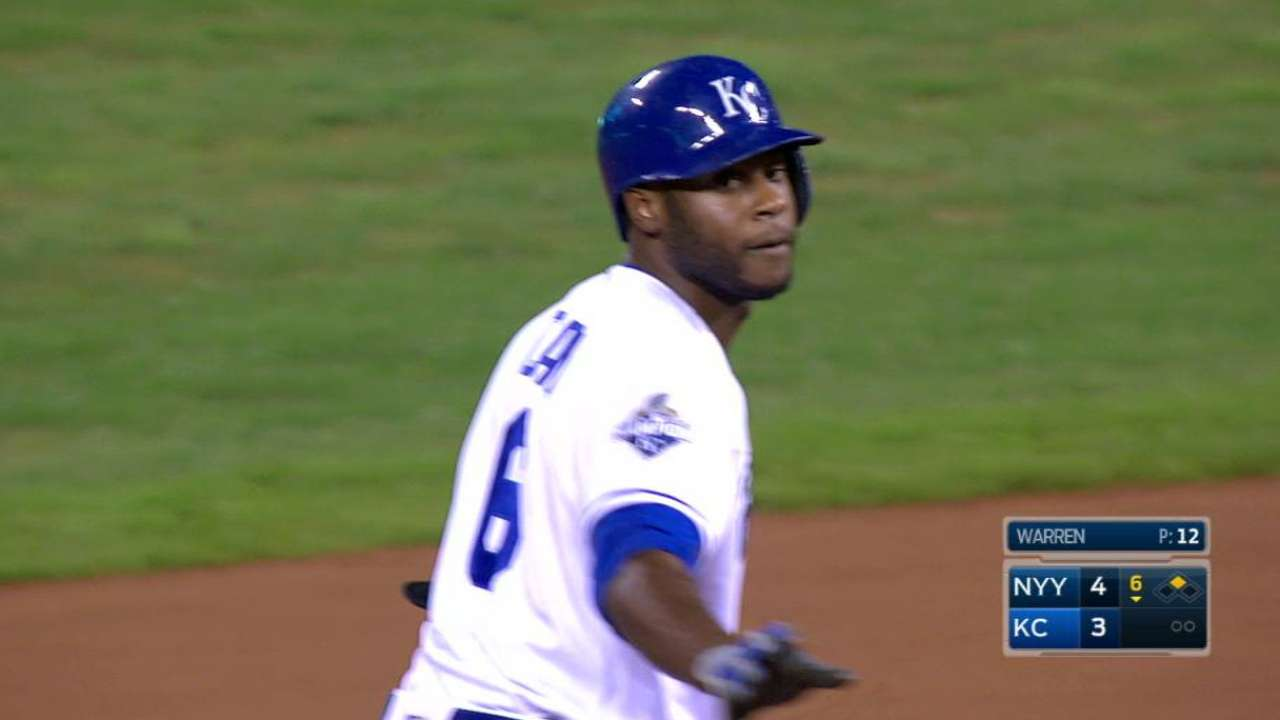 Cain's injuries most damaging to Royals in '16