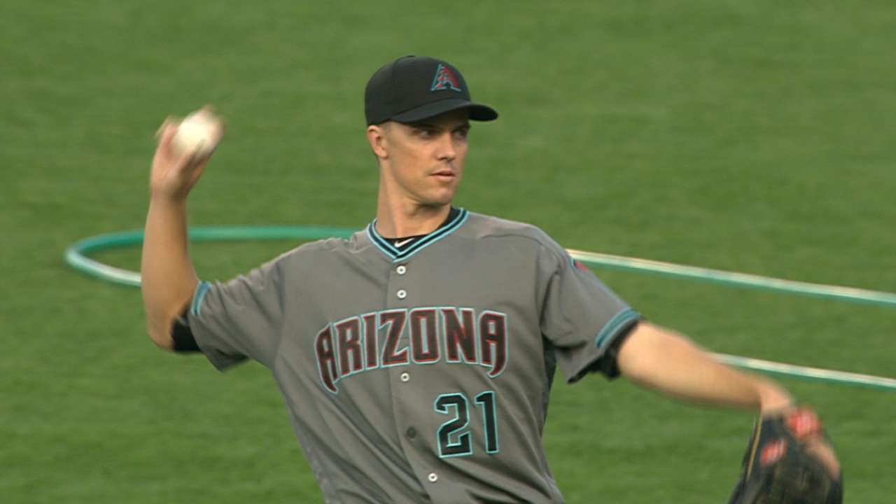 Greinke sharp in all 3 phases for win No. 12