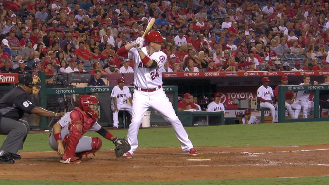 Healthy again, Cron producing for Angels
