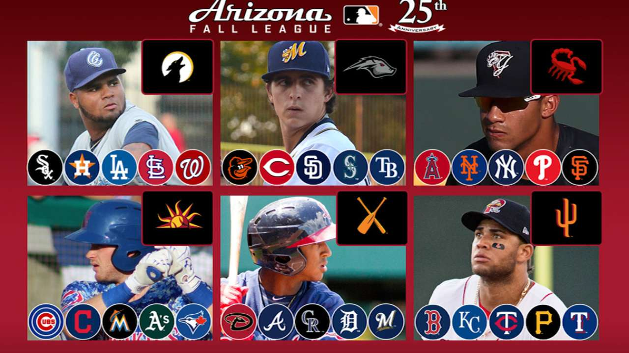 10 prospects to watch in the Arizona Fall League