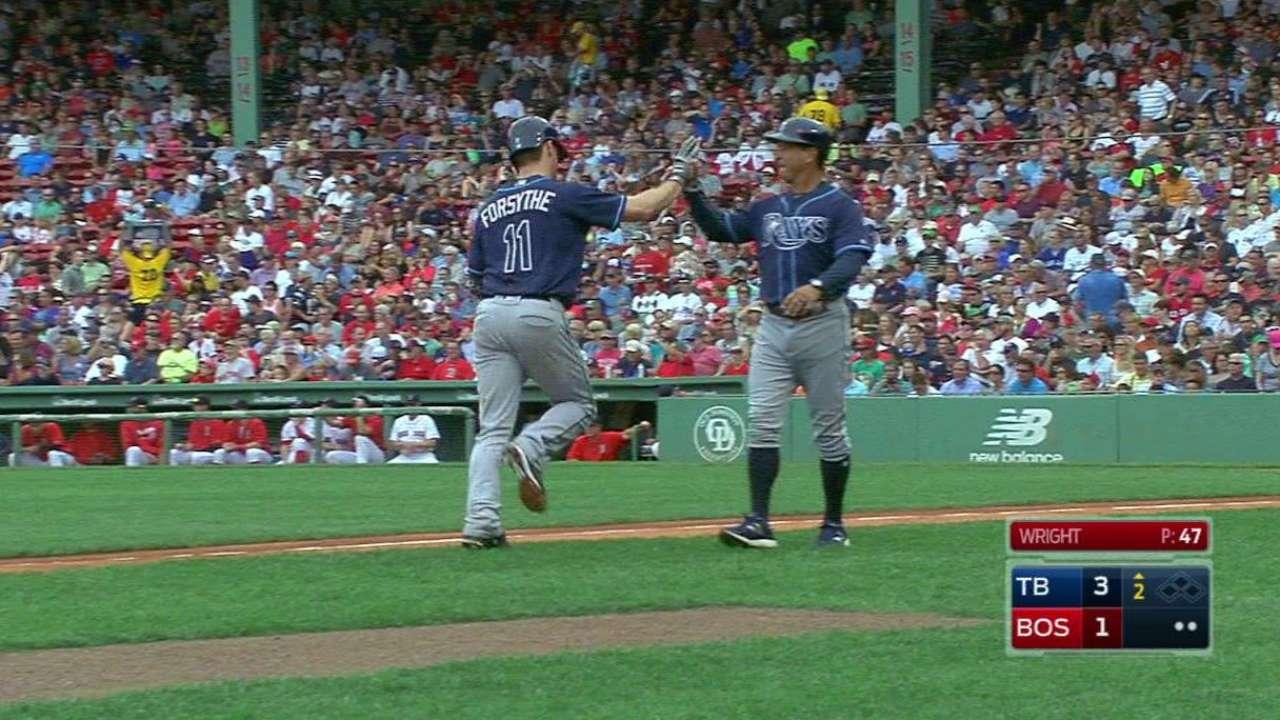 Forsythe's two-run home run