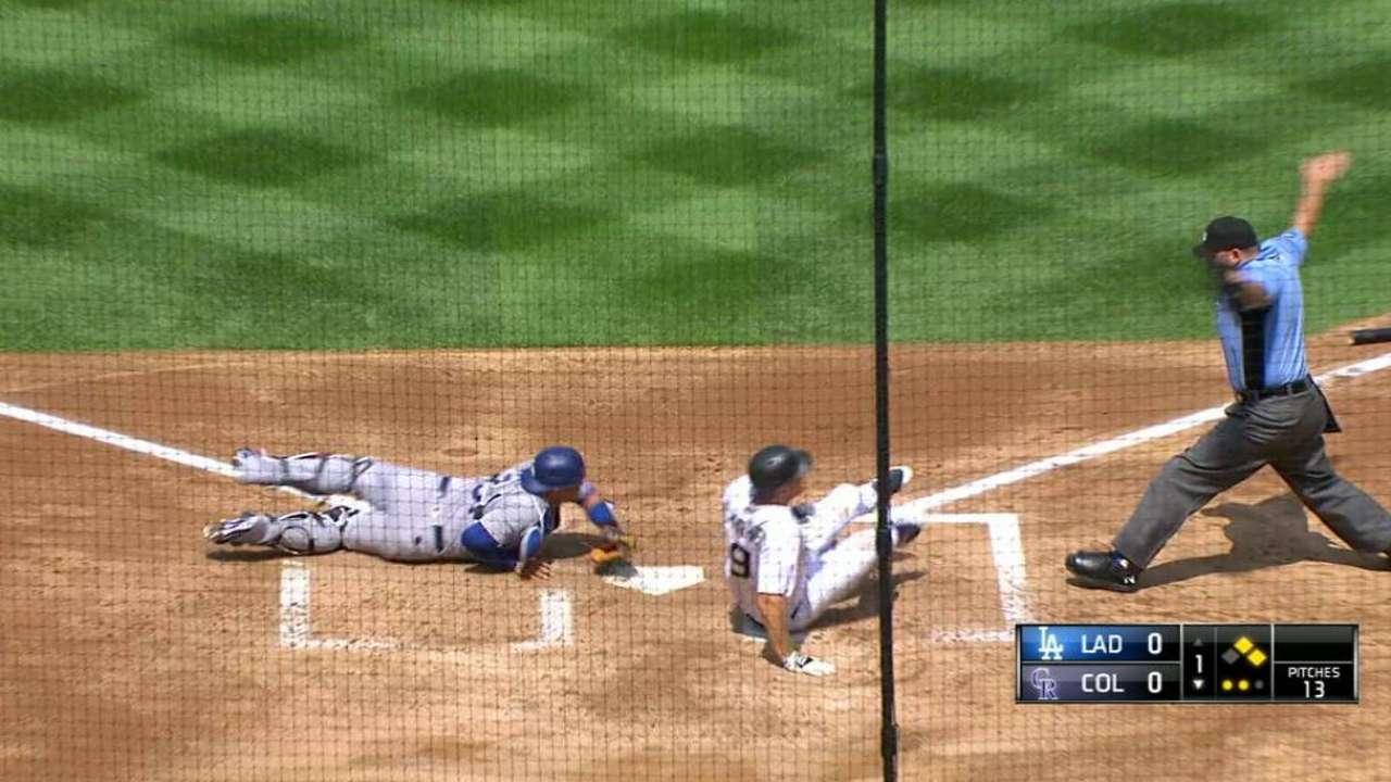 Rox blank Dodgers behind Anderson's gem