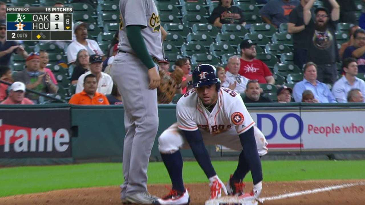 Springer's triple to center