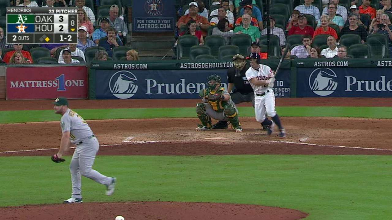 Altuve's game-tying triple