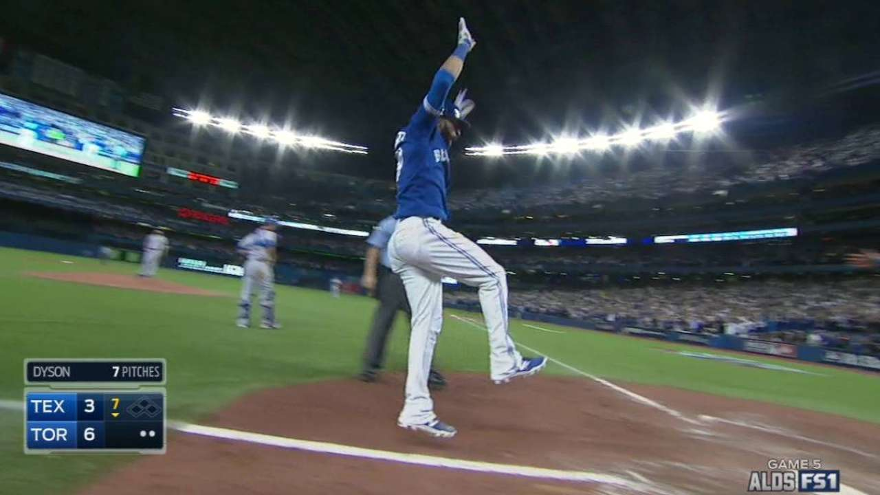 Bautista's go-ahead homer