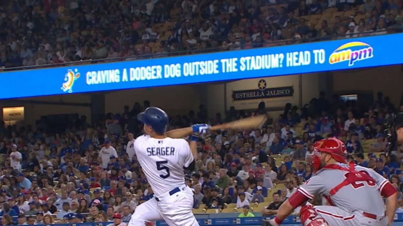 Seager continues to be Dodgers' steady force