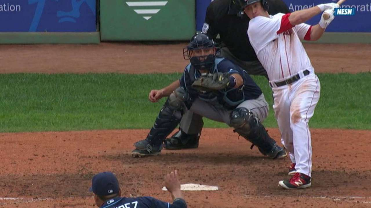 Sox take stand, fend off pesky Rays