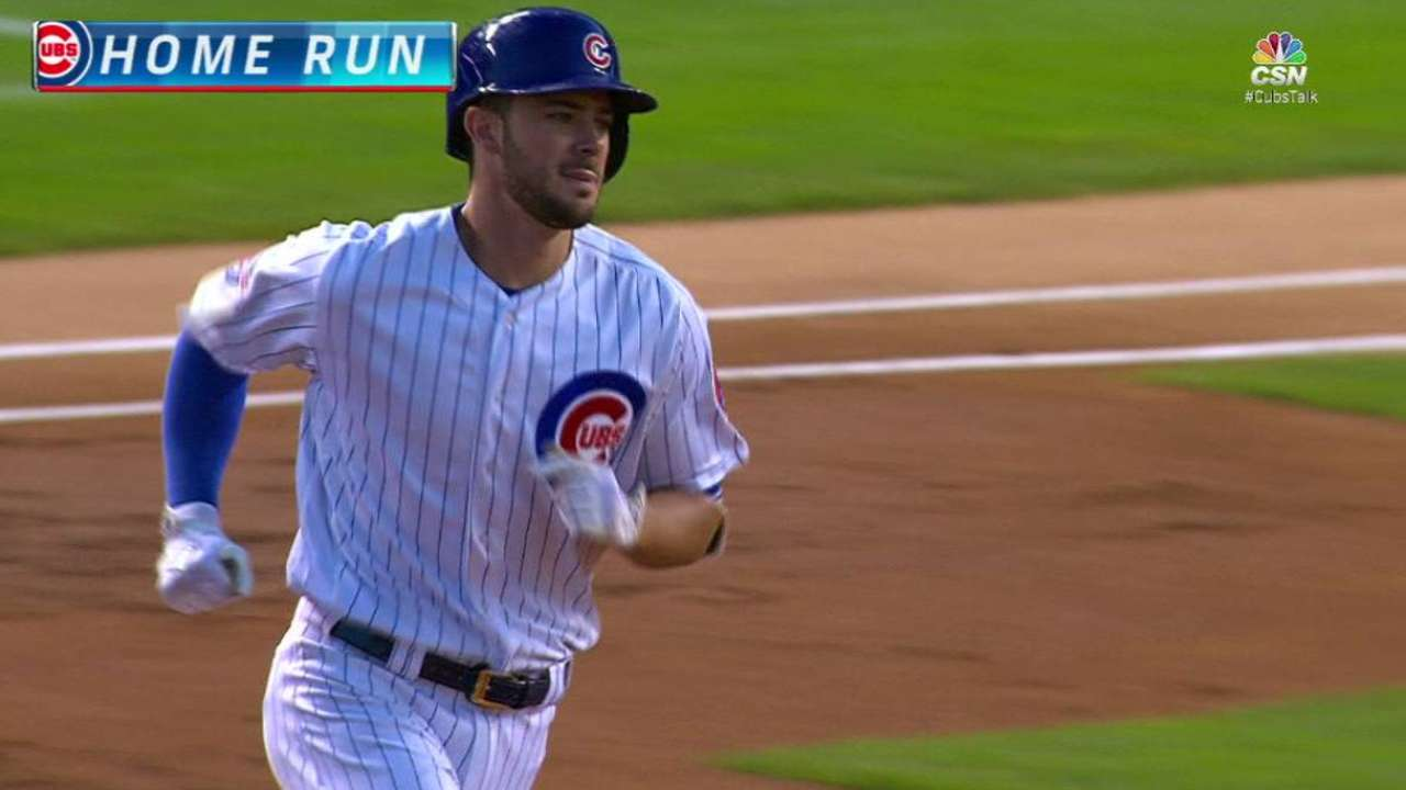 Cubs cap 22-win August with sweep of Bucs