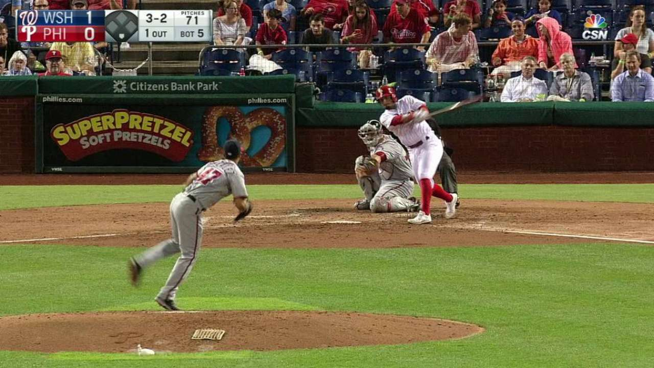 Galvis' HR only support for Morgan vs. Nats