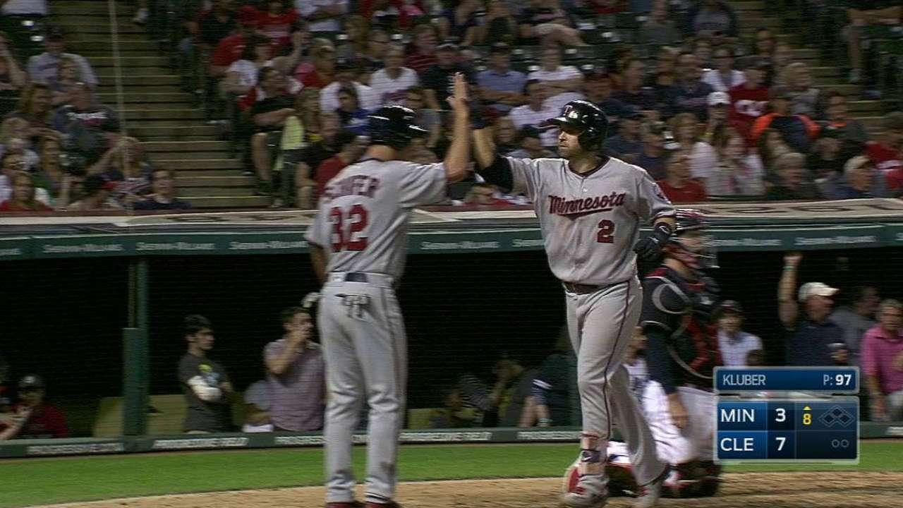 Dozier's two-run home run