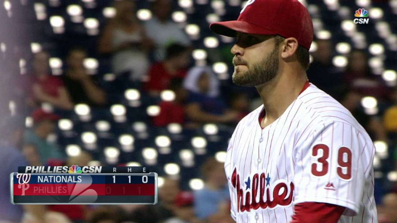 Morgan whiffs Werth