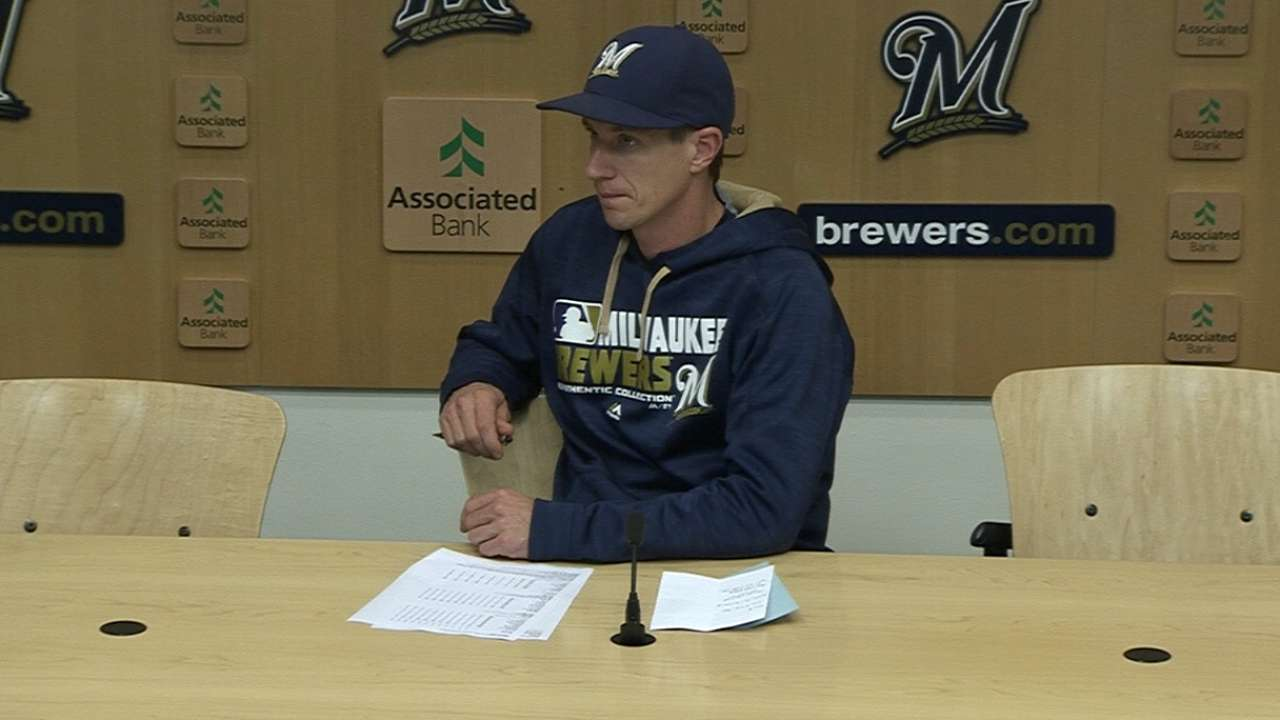 Counsell on Garza's outing