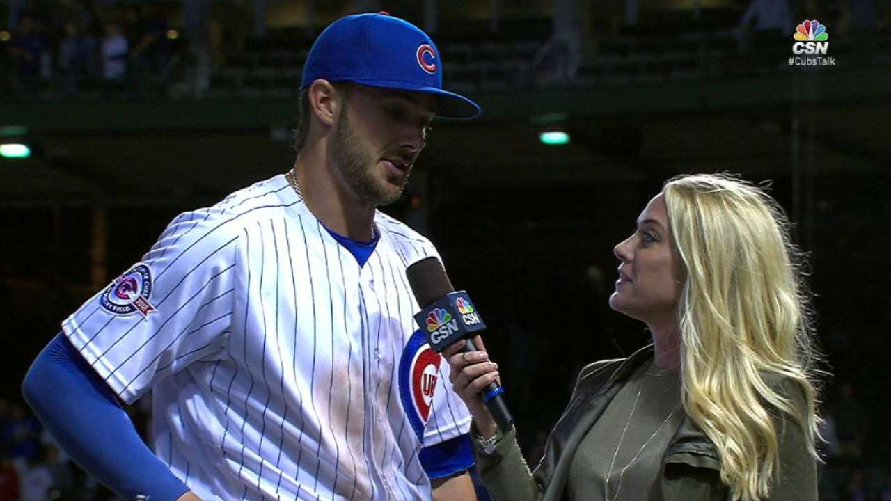 Bryant on the Cubs' 6-5 win