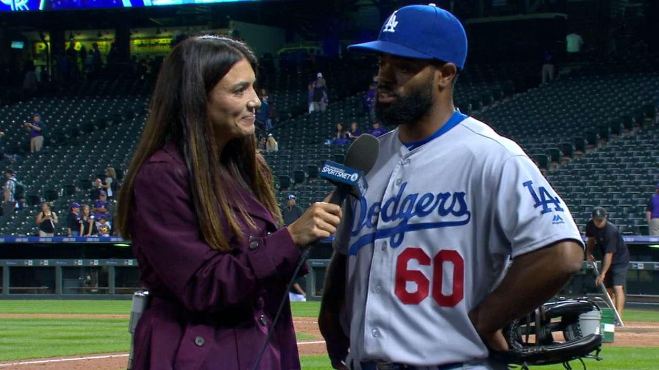 Grinding Dodgers have eyes on prize