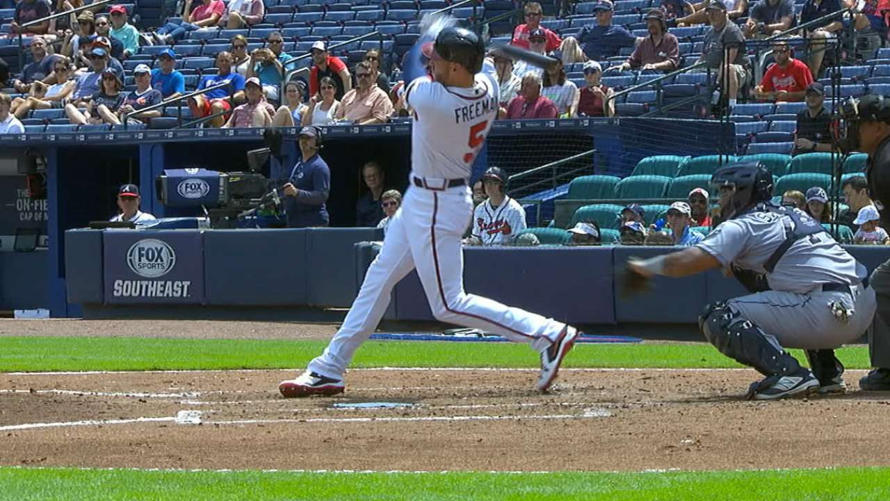Freeman's two-run jack