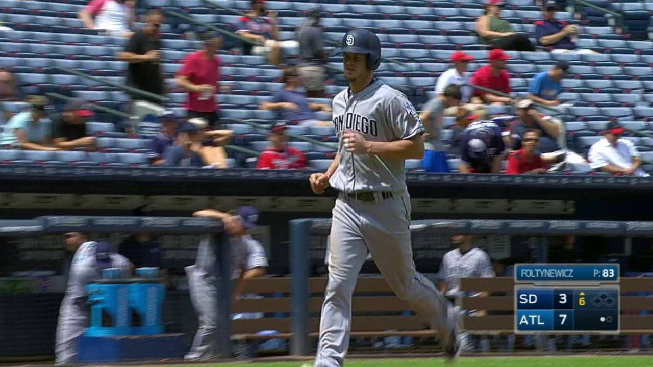 Myers' two-run homer