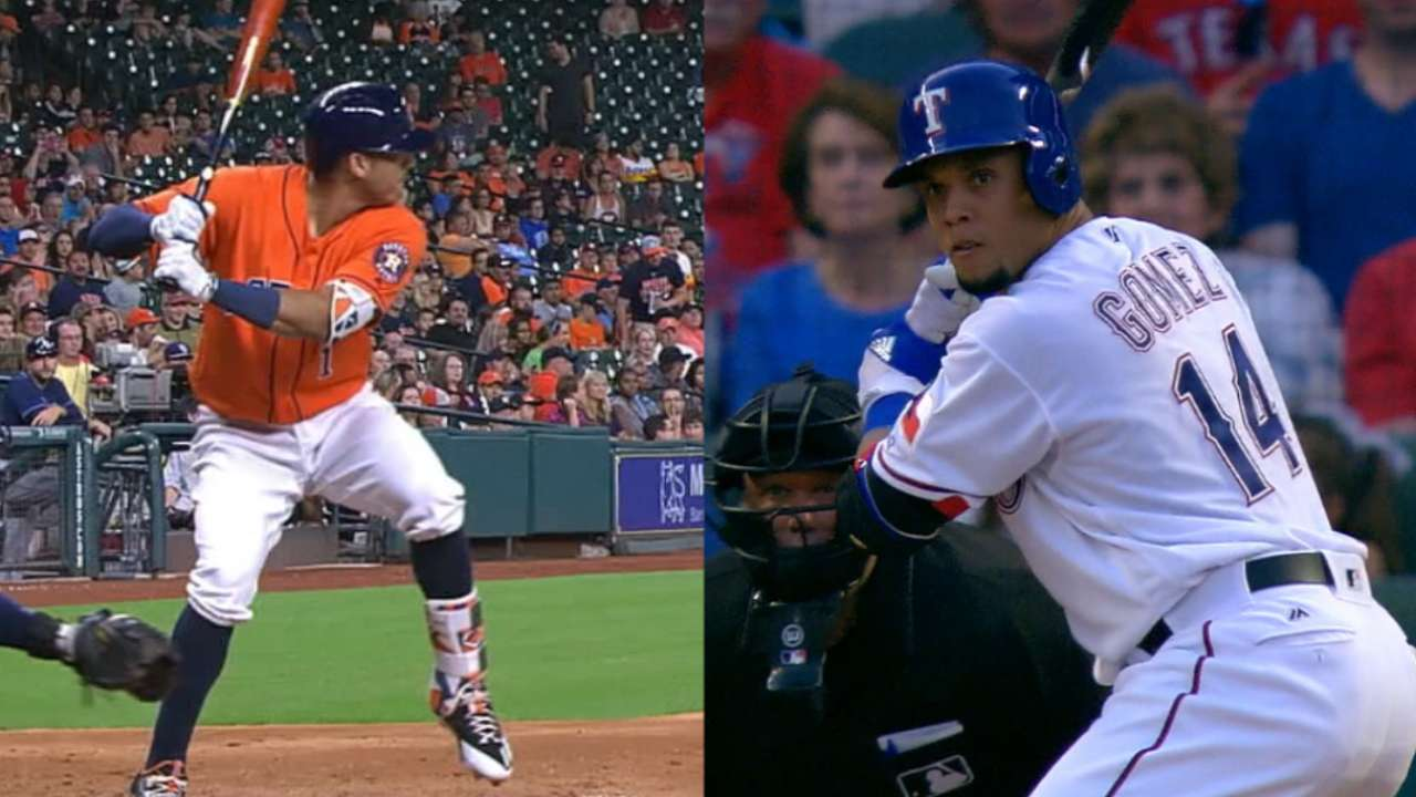 Astros, Rangers to tussle
