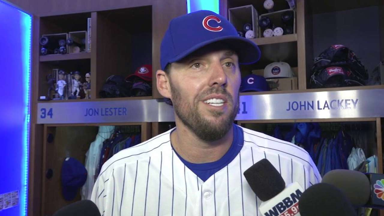 MLB Plus: Lackey on return