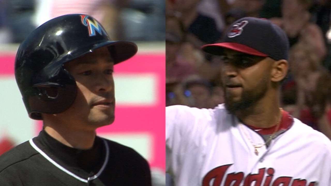 Crucial set for Marlins, Indians