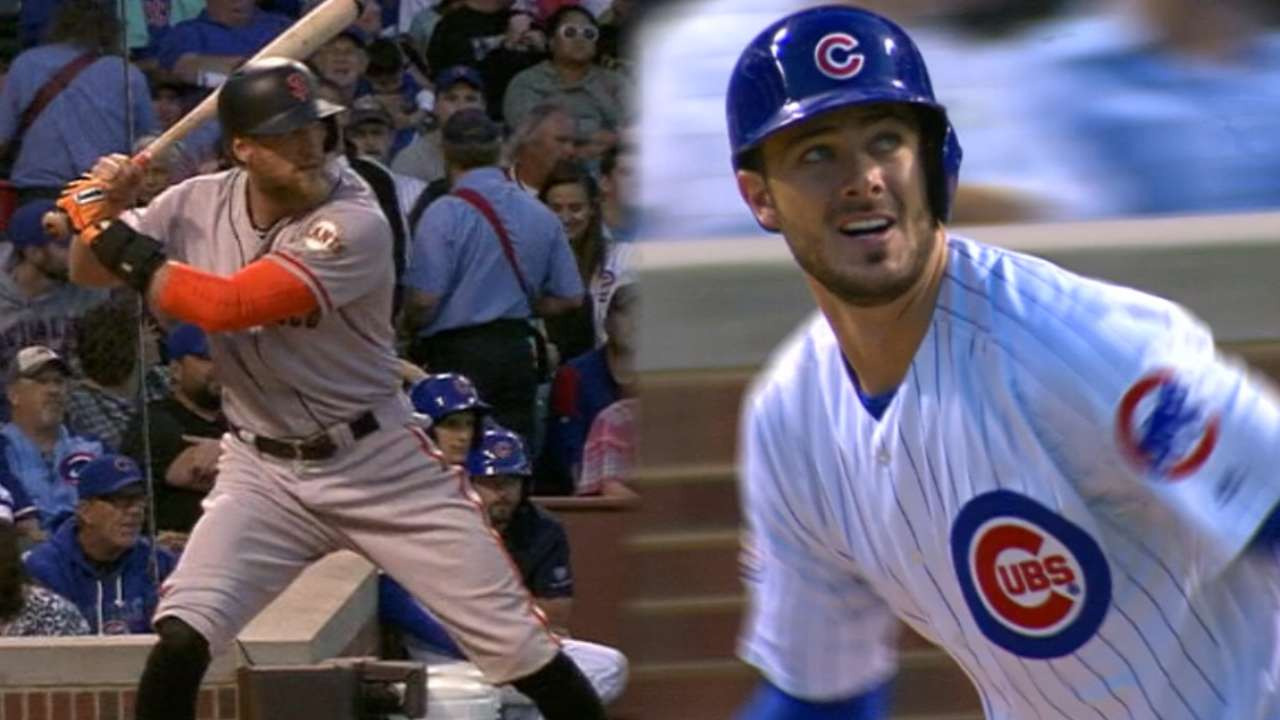 Giants, Cubs continue duel