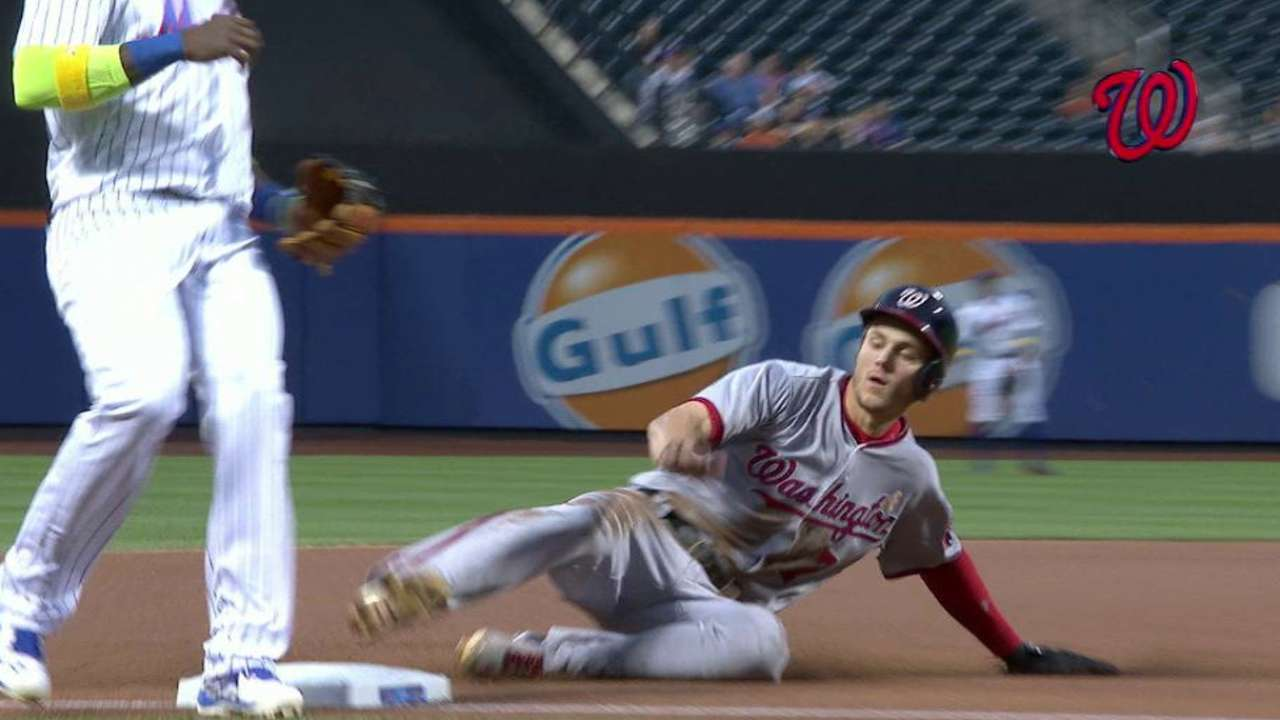 Turner steals third