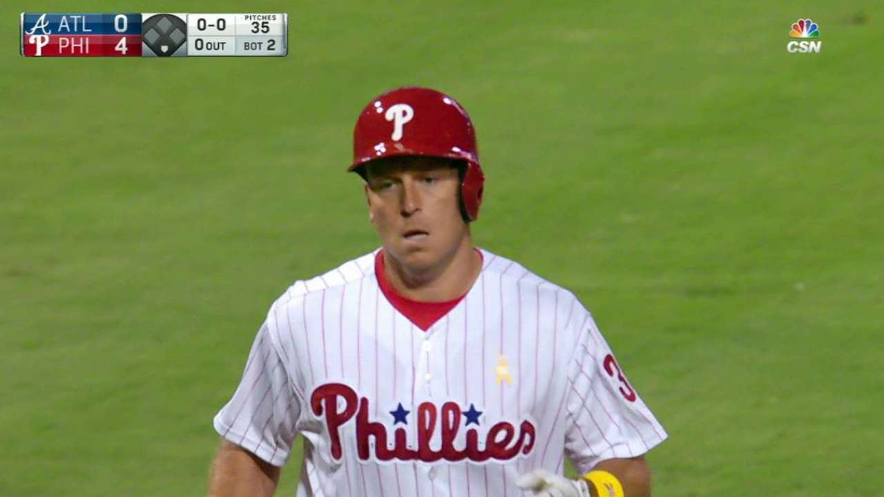 Ellis, Phillies can't rally past Braves