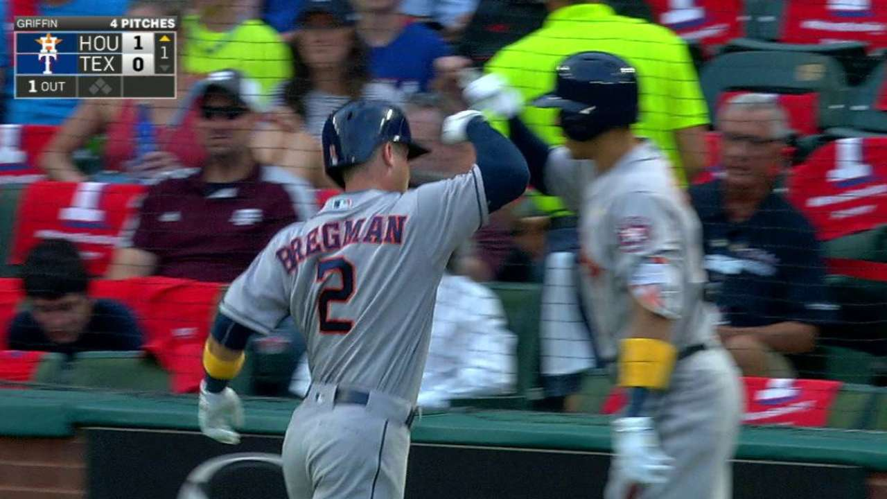 Bregman's solo home run
