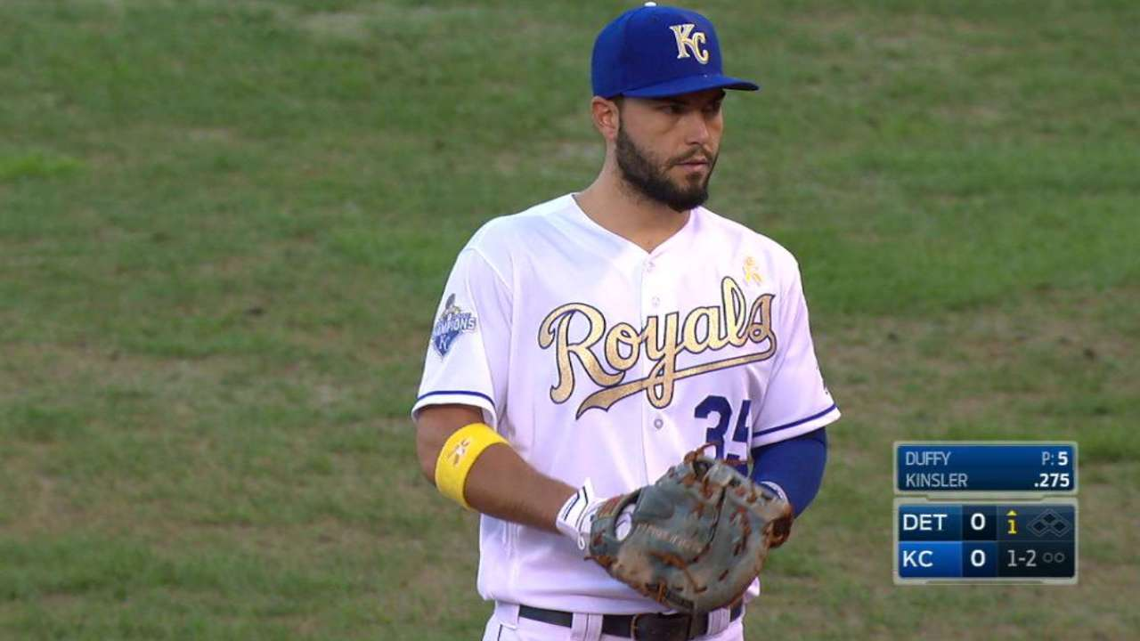 Royals pitch in for Childhood Cancer Awareness