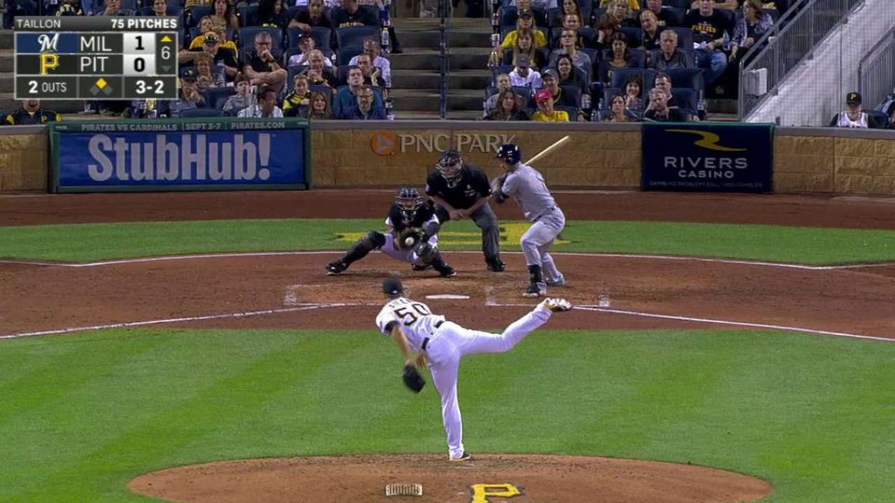 Taillon strikes out Braun