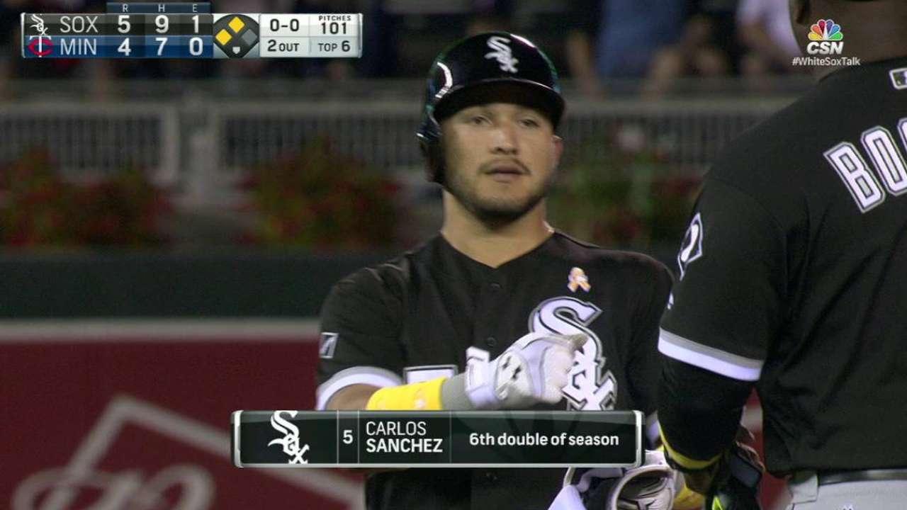 Sanchez's RBI double