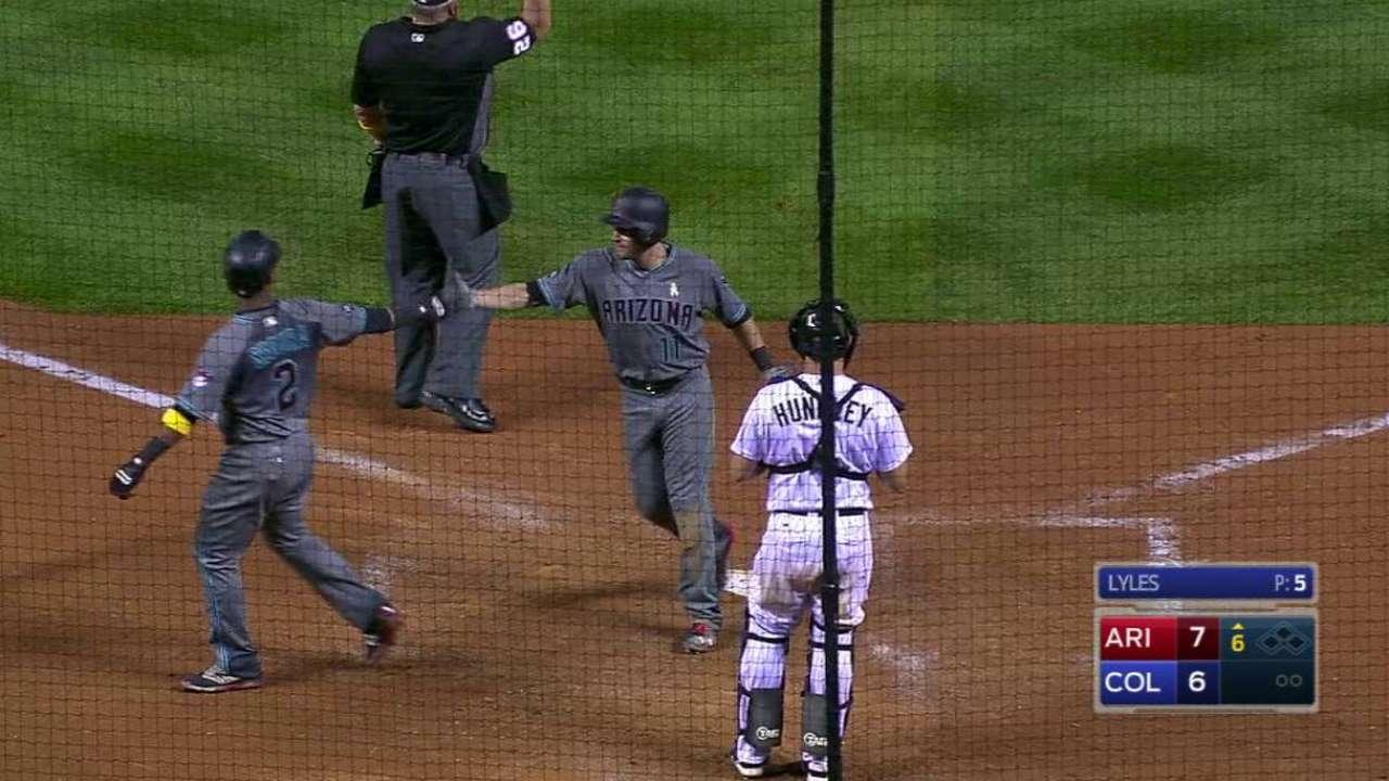 Pollock's two-run home run