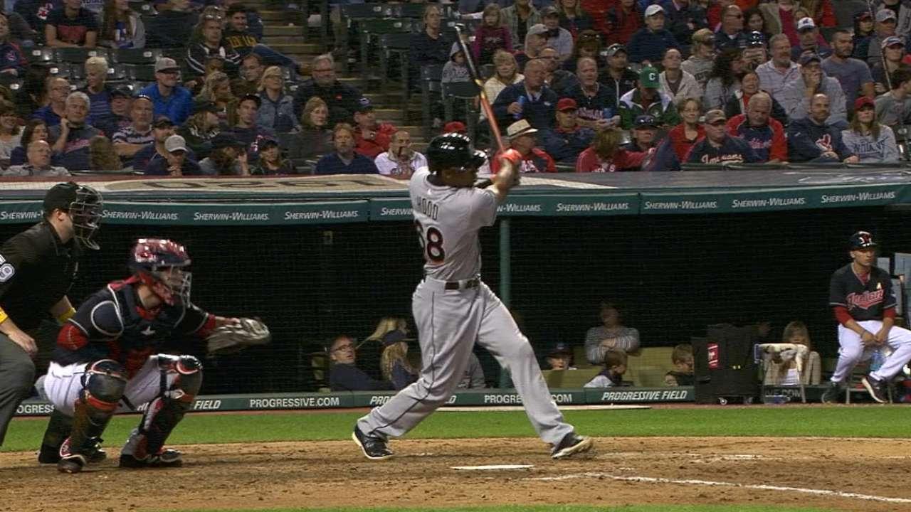 Major League debut Destin-y for Hood