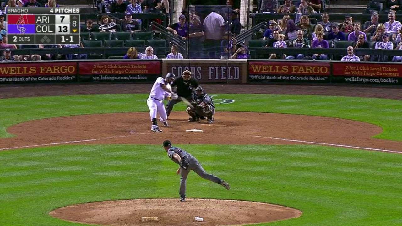 Descalso's solo home run