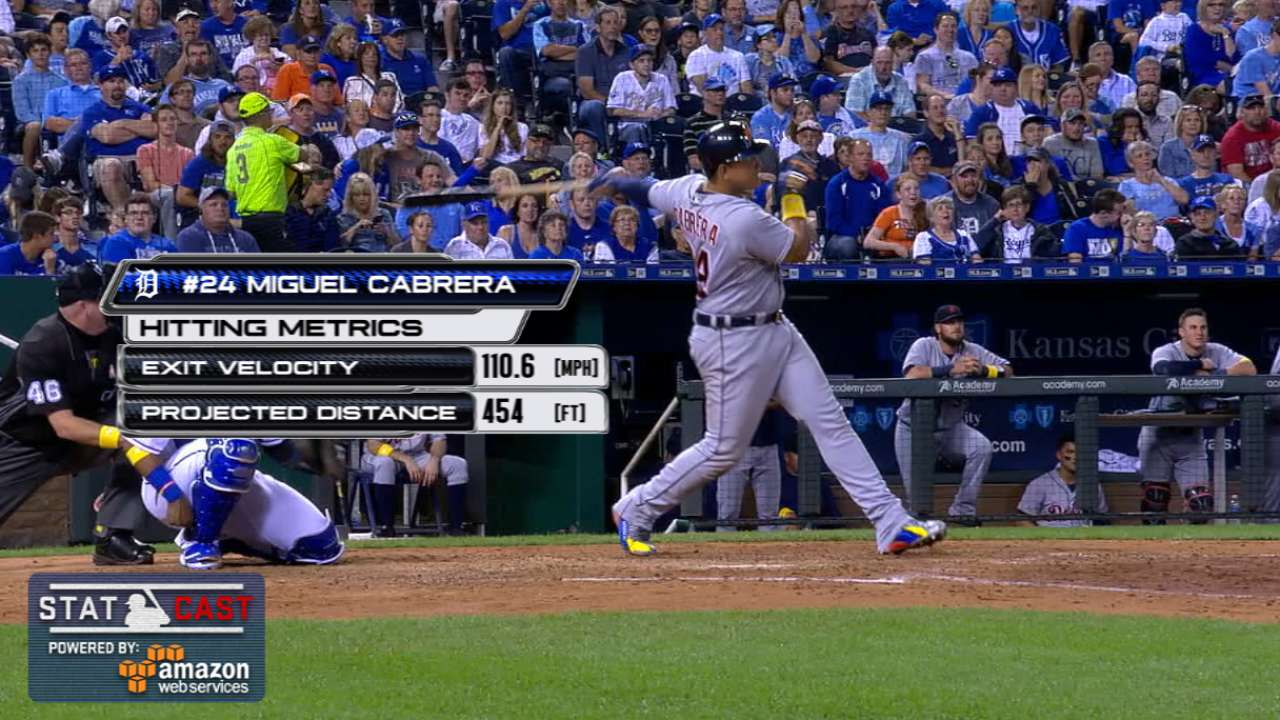 Statcast: Cabrera's 454-footer