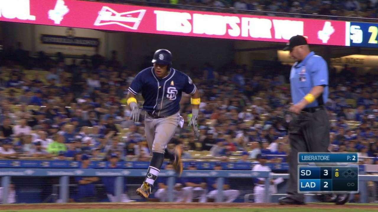 Solarte jonronea y Padres le pegan a los Dodgers